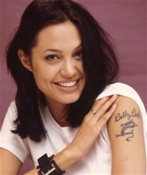 tattoo angelina jolie billy bob i tatuaggi di angelina jolie