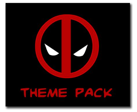 deadpool windows 7 theme themes for windows 7 windows 8 deadpool theme for windows 7