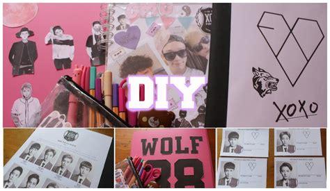 cuadernos decorados de shawn mendes diy kpop exo decora tus 250 tiles escolares youtube
