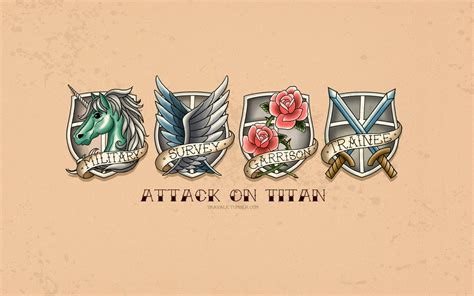 art attack tattoo attack on titan by travale on deviantart