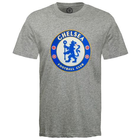 chelsea fc official football gift mens crest t shirt ebay