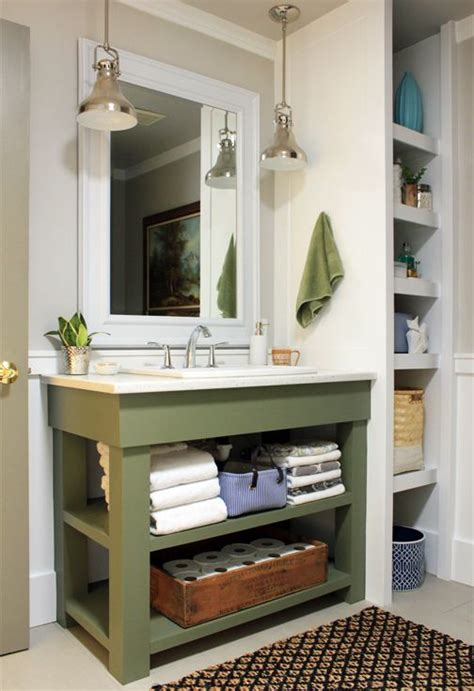 25 best open bathroom vanity ideas on