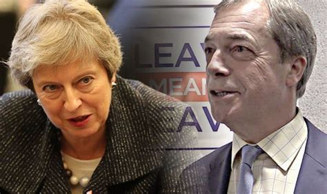 brexit news farage reveals exactly when he will launch
