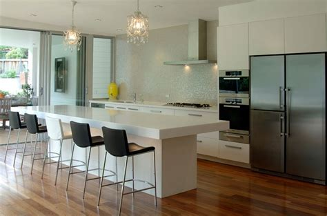 kitchen with breakfast bar designs kitchen counter and breakfast bar interior design