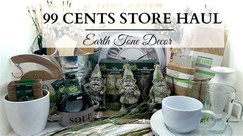 home decorator supply 99 cents store haul earth tone home decor diy