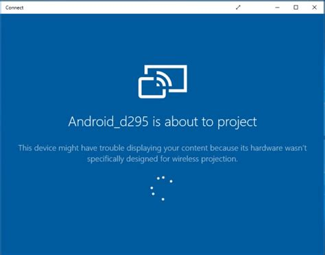 android cast screen to tv how to cast your android screen to windows 10 pc