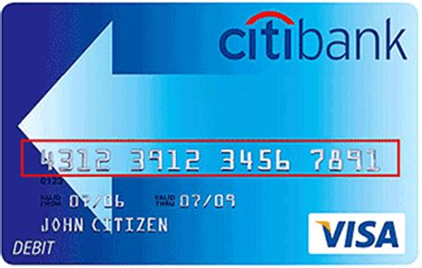 What Is The Card Number On A Visa Gift Card - citibank