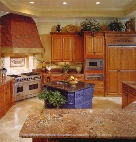 kitchen sinks and tobago oak cabinets with granite countertops oak cabinets