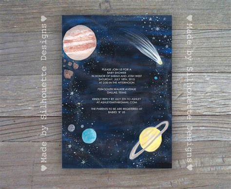 Space Baby Shower Invitations by 28 Best Images About Baby Prep On Astronauts