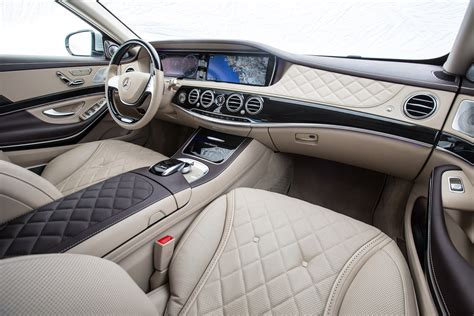 inside maybach maybach s class interior fiat test drive