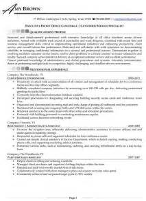 Concierge Security Guard Sle Resume by Front Desk Concierge Resume Security Guards Companies
