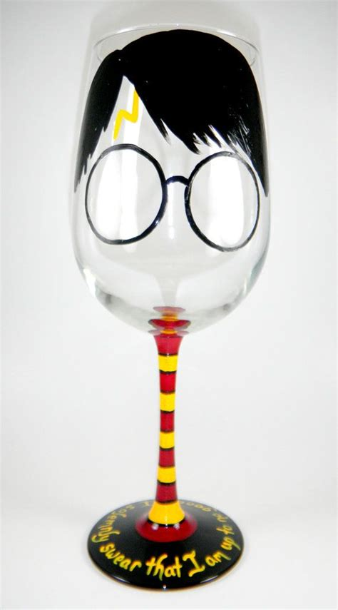 potters glass harry potter inspired wine glass cool random stuff