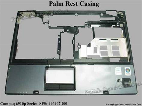Casing Touchpad Compaq 6910p Hp Compaq 6910p Series Mainboard Palm Rest For Use In