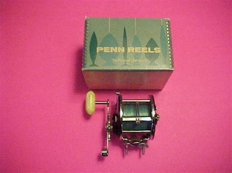 Penn Level Wind 309m Fishing Reel vintage penn peer 309m levelwind fishing reel with