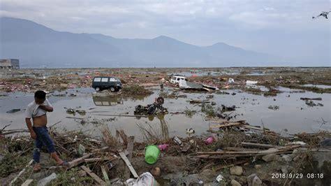 tsunami palu foto begini kerusakan dak gempa dan tsunami di kota