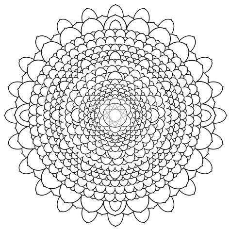 mandala coloring pages difficult brightlight mandalas may 2010