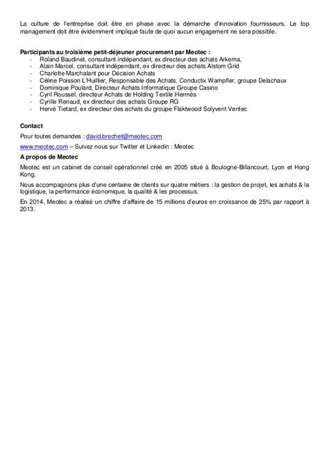Meotec Event Procurement Lyon - 27 avril