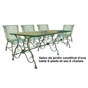 Bien Table De Salon De Jardin En Fer Forge #5: Salon-de-jardin-fer-forge-table-6-pieds-et-4-chaises.jpg