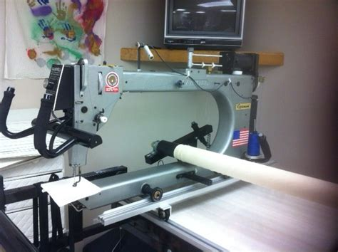 gammill optimum 12 foot quilting machine