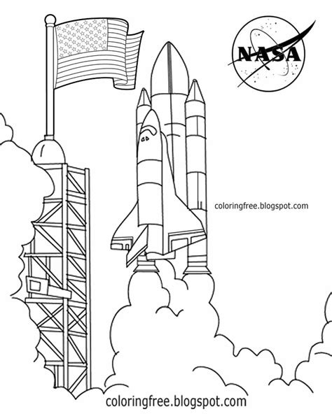 rocket launch coloring page free coloring pages printable pictures to color kids