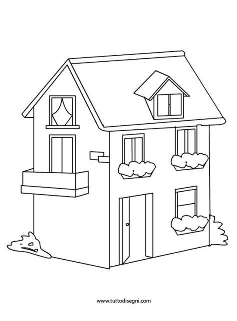 disegno casa edifici tuttodisegni