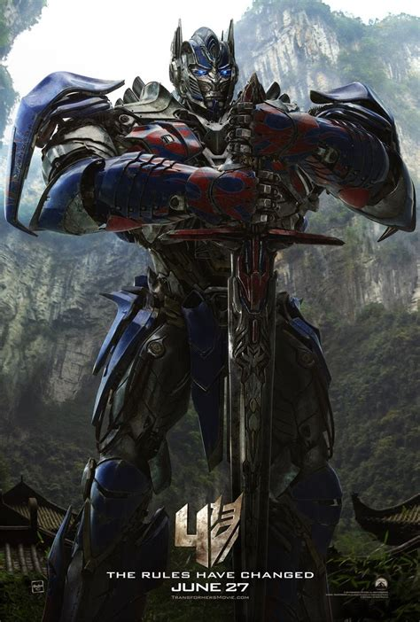 Tf4 Optimus Prime transformers news optimus prime poster