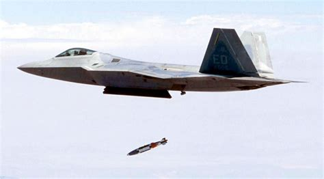 Military Photos F-22 Drops JDAM Islam World History Test