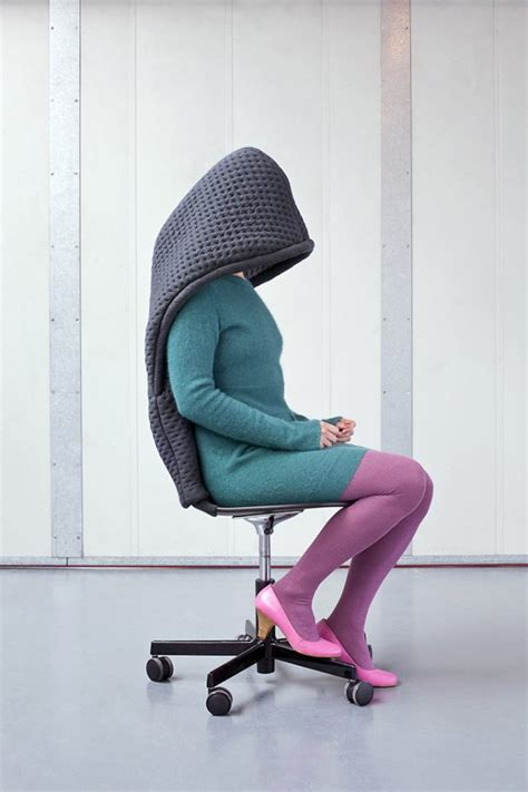 Office Chair High Design Ideas Made For Introverts 13 Furniture Designs Wearables That Prioritize Privacy Urbanist