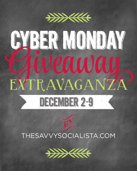 Cyber Monday Giveaway Amazon - the savvy socialista cyber monday giveaway the savvy