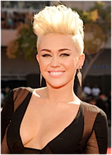 Trending Today Miley Cyrus Is Not A Bad by Hairstyle Trend Photos 2013 14 Pompadour Haircuts