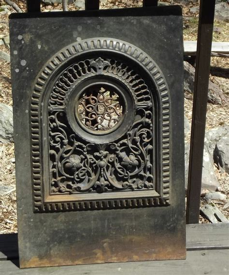 Vintage Fireplace Grate by Vintage Cast Iron Fireplace Grate Heat Register Vent