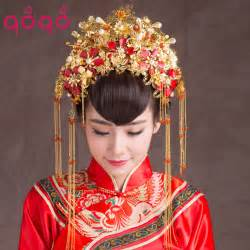 Traditional Vintage Chinese Style Classical Jewelry Traditional Bridal
