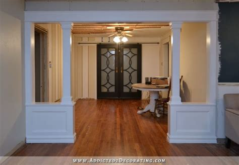 build my room pony walls with columns finished
