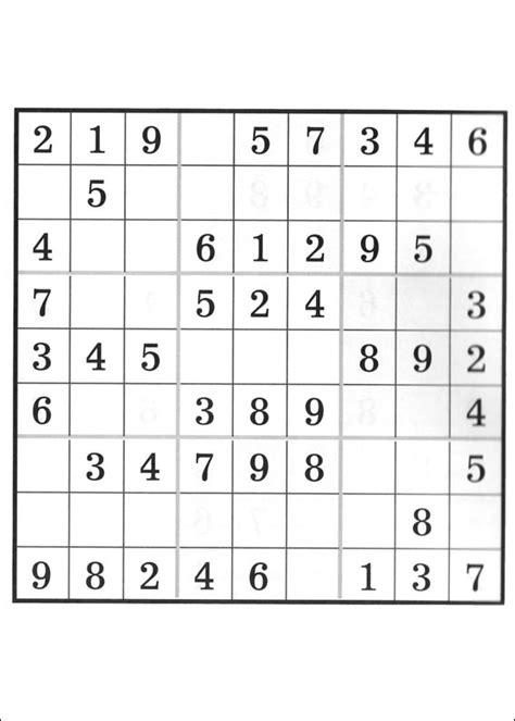 Grille Sudoku Net by Sudoku Grilles Junglekey Fr Web