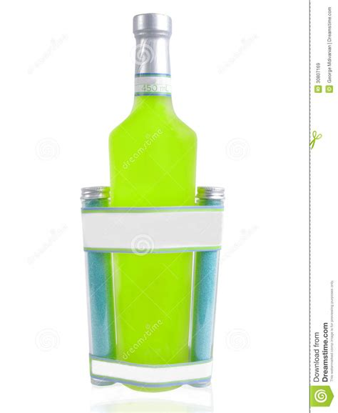 mojito cocktail bottle cocktail bottle royalty free stock images image 30807169