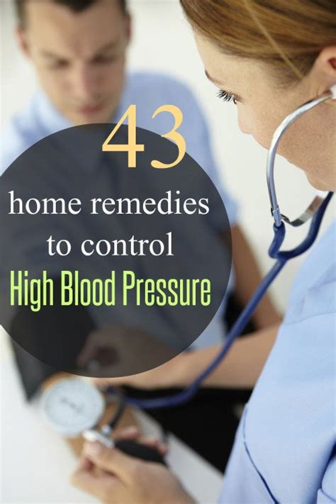 high blood pressure home remedies that are a sure way
