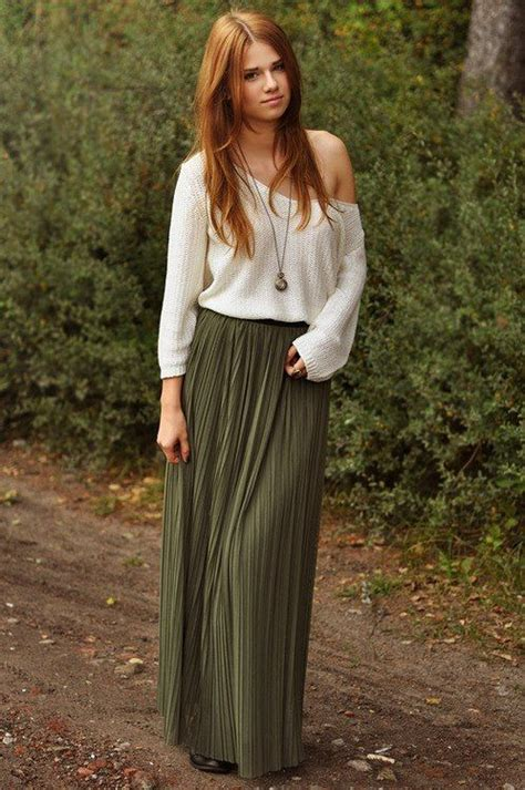 1000 ideas about olive maxi skirts on morocco