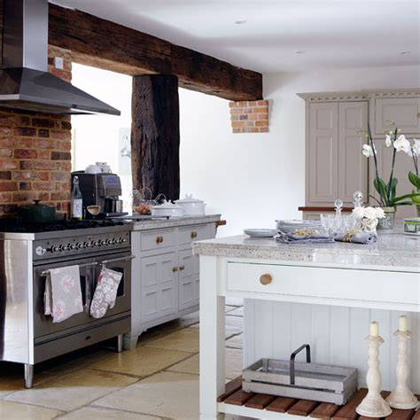 country kitchen stove country kitchen with range cooker kitchen ideal home