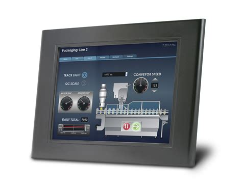 Rugged Plc by Qterm A12 Large Screen Hmi Built Rugged For All Your