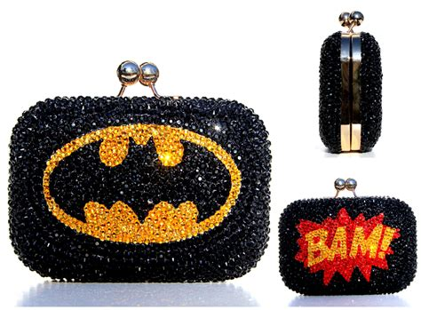 Clutch Original Swarovski batman clutch with swarovski crystals on storenvy