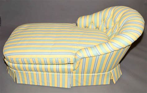 yellow chaise lounge uk chaise lounge by baker yellow and blue green