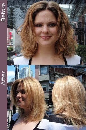 curly haircuts vancouver curly hair vancouver 187 before after colour