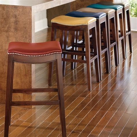 Julien Leather Bar Stool Sale by Stools Design Amusing Bar Stool Heights 32 Inch Bar