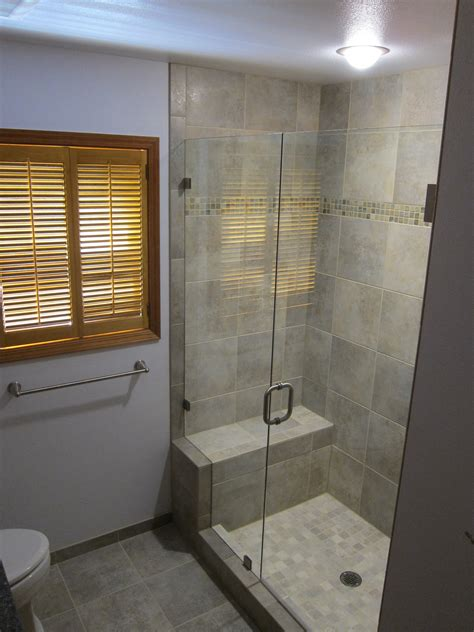 bathroom shower ideas shower seat alex freddi construction llc