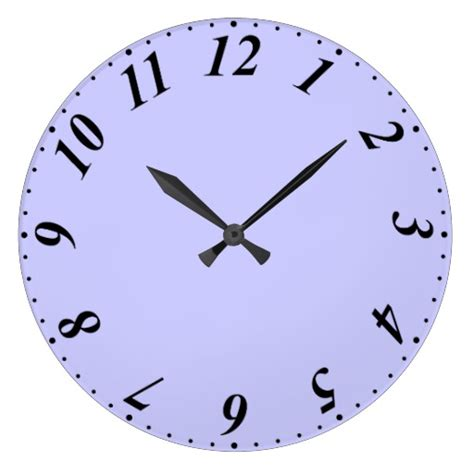 12 hour clock with minutes zazzle