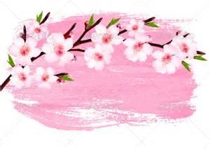 Graphicriver pink paint sakura branch banner 7294072