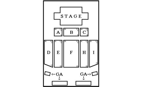 emerald casino seating chart styx road trip central archive 2002