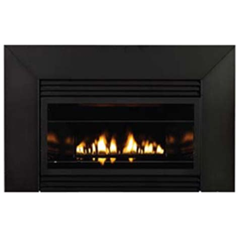 Metal Fireplace Surround Kit by 28 Quot Loft Series Vent Free Fireplace Insert Metal Surround