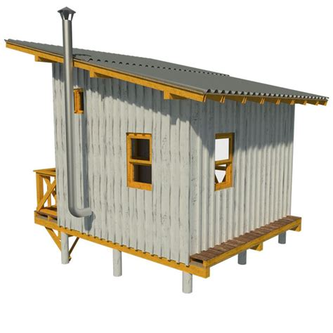 Micro Cabin Plans Elevated Cabin Plans
