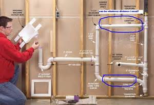 size pipe for utility sink how to plumb laundry sink and